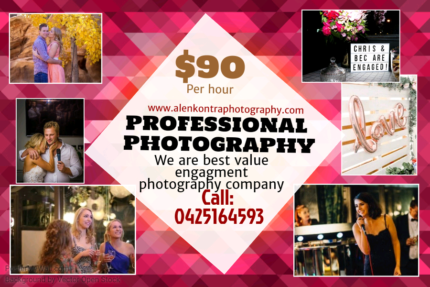 Engagment party photography melbourne