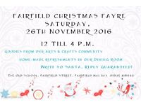 FAIRFIELD CHRISTMAS FAYRE 2016