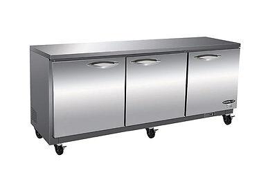 Kool-it Ikon Kuc72 72 3-door Commercial Under Counter Refrigerator Cooler New