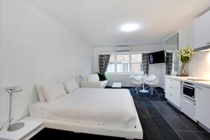 Fully Furnished Studio Apt Sth Yarra. All bills inc $575 PER WEEK