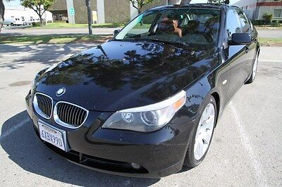 2007 BMW 5-Series 530i 2007 Bmw 530i Automatic 6 Cylinder NO RESERVE