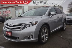2016 Toyota Venza V6 V6 AWD LIMITIED FULLY LOAD, 1 OWNER, LOW...