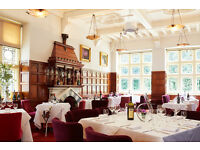 Part Time Waitering Staff required at award winning Restaurant - £8ph - Immediate Start