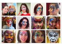 Mel's Facepainting Glasgow - Professional Face Painting & Glitter tattoos