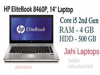 """HP EliteBook 8460P, 14"""" Laptop, Core i5 2nd Gen, 4GB RAM, 500GB HDD Win7- 0550C1"""