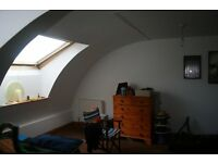Unusual large one bedroom flat in converted 1880's pub with vaulted ceilings