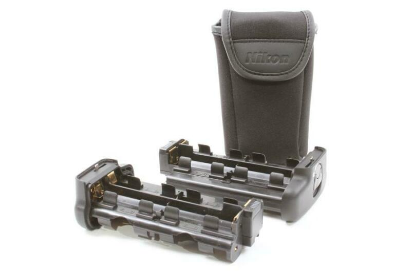 Used Pair of Nikon MS-D11 AA BATTERY TRAY/Holder - MINT!