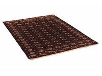 "Bokhara - Turkaman Persian Rug Carpet (7'2""x4'10"")"