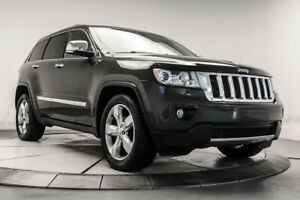 2011 Jeep Grand Cherokee OVERLAND 4WD VOLANT CHAUF, NAV, MAGS