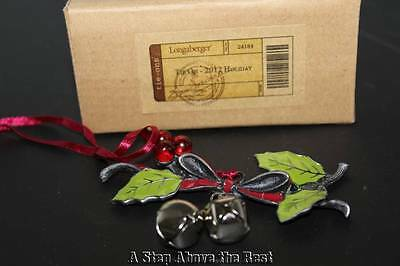 Longaberger 2012 Jingle Berry Tie On #24184 NEW