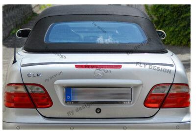 mercedes clk 200 320 230 W 208 spoiler heck lippe becquet levre trunk lid hinten