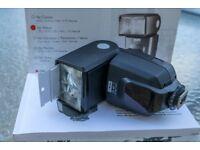 Mecablitz 50 AF-1 digital electronic flash for Nikon DSLR cameras - Boxed as new