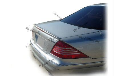 Mercedes CL Coupe C215 Heckspoilerlippe SCHWARZ GLANZ Abrisskannte Spoiler Apron