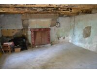 Historic stone cottage with separate gite in rolling French countryside. Requires renovation.