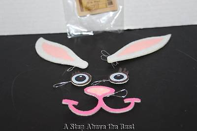 Longaberger Bunny Face Tie On #24106 NEW