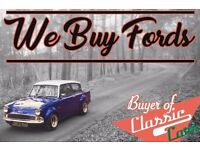 We Want Your Classic Ford! Sell your classic Ford for cash today!