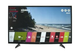 "LG 43"" smart 4k ultraHD HDR LED TV wi-fi Warranty Free Delivery"