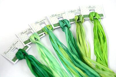 silk ribbon craft
