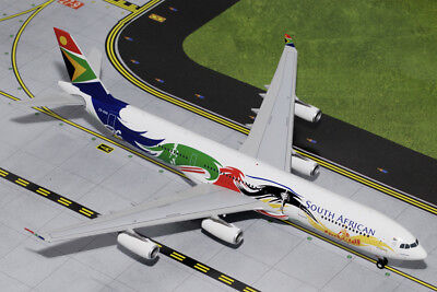 - GEMINI 200 SOUTH AFRICAN AIRLINES A340-300 1:200 SCALE DIECAST METAL MODEL