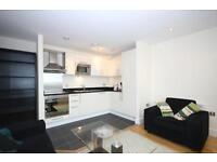 Available Now!! Stunning one bedroom flat in Wharf side point south. 1 min to station. 24hrs porter