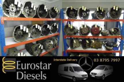 Mercedes Vito and Sprinter Gearbox Transmission Auto Manual