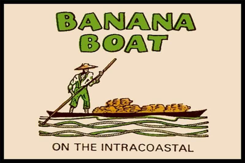 Banana Boat Restaurant Boynton Beach FL Fridge Magnet