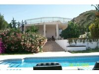 5 double bed villa in spain. close to benidorm and alicante. exchange for uk or sell
