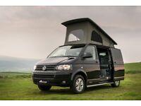 Deep Black VW T5 Campervan 102BHP