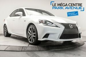 2016 Lexus IS IS 300 FSPORT2 AWD CUIR, TOIT, NAV, BTH