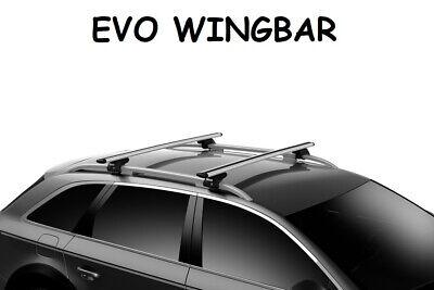 Kit Barre portatutto THULE EVO WingBar Grigio TIGUAN SUV 2016 poi barre longitud