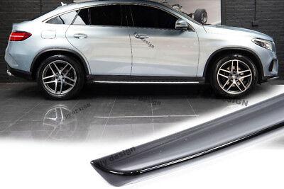 Mercedes GLE C292 SCHWARZ Lackiert spoiler Hecklippe Flügel Apron Splitter Flap