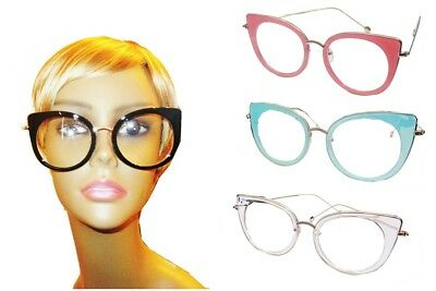 Oversized Womens Sunglasses, Big Frame Shades Fashion Large Clear Eye (Large Frame Womens Glasses)