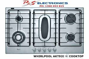 Whirlpool 900mm WHITE gas cooktop with 5 burners - Model AKT920W Cabramatta West Fairfield Area Preview