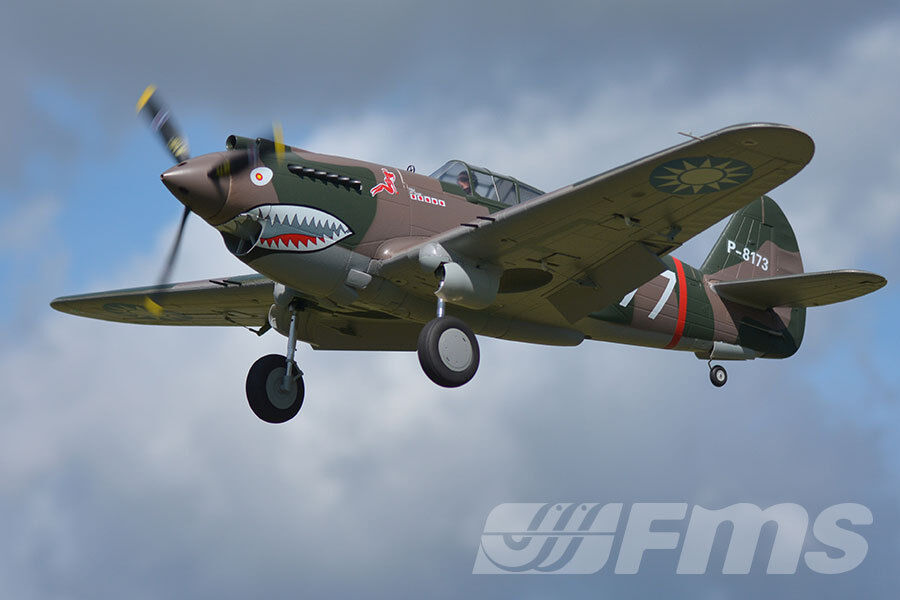 FMS 1400mm P-40B Flying Tiger RC Warbird PNP No Radio