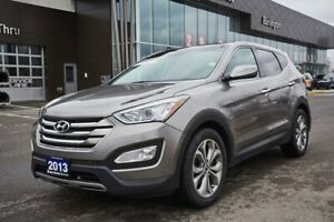 2013 Hyundai Santa Fe Sunroof,Nav,Htd Leather,Bluetooth