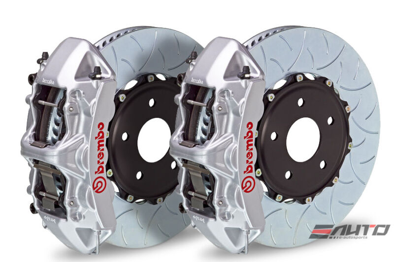 Brembo Front Gt Brake 6pot Silver 380x32 Type3 Gs350 Gs450h 12+ Is350 14+ Rc350
