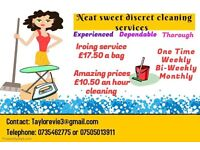 Cleaning & Ironing servise