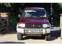 Shogun Good condition for age MOT 6 months 4 new off road tyres Tow bar