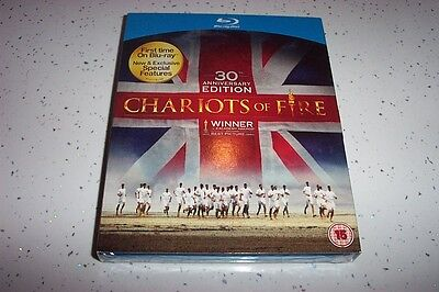 CHARIOTS OF FIRE - 30TH ANNIVERSARY EDITION   BLU RAY + CD     UK   NEW/SEALED