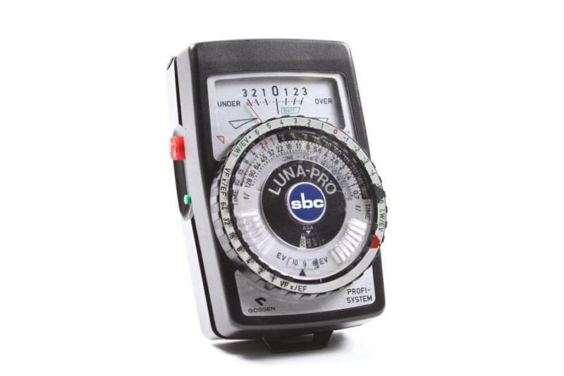 Used Gossen Luna Pro SBC Light Meter