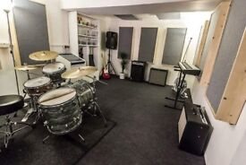 Brand new rehearsal music studios built to order monthly hire BN41 Hove nr Brighton