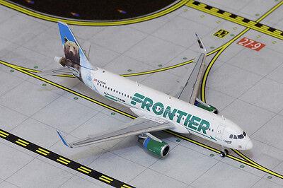Gemini Jets Frontier Airbus A320-200S GJFFT1576 1/400 REG# N227FR. New