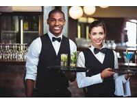 Waiters and Waitresses, FULL TIME, IMMEDIATE START