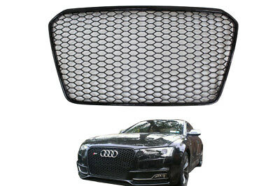 Audi A5 Facelift RS 5 S5 tuning 2012- Frontgrill Kühlergrill Wabengrill SCHWARZ