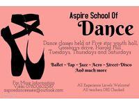 Dance classes register now for new classes