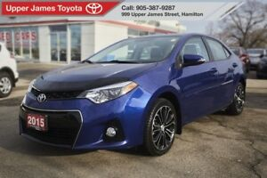 2015 Toyota Corolla S UPGRADE PACKAGE!!