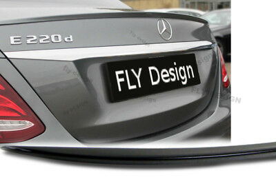 Mercedes W213 E-Klasse Tuning AMG neu SLIM HECKSPOILER SPOILER Lippe Lid becquet