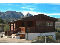 Log Cabin / Small holding in Spanish mountains, Benifato nr Guadalest/Benidorm