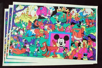 Disney Disneyland Memorial Orgy Original Good Wally Wood black light (Disney Memorial)