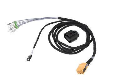 For Vw Sharan 7N Tiguan Touran 1T Original Kufatec Cable Loom Pdc Control Unit